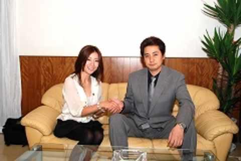川村ひかるさんとエフネット代表